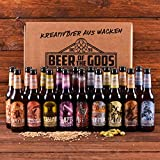 Wacken Brauerei Göttergabe - 18 x 0,33l Beer of the Gods - Craftbeer Paket - Craft Beer Set Bierbox  Geschenkset Bier