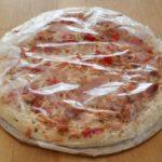 Pizza eingepackt